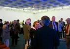SAHR Members converse at wine reception